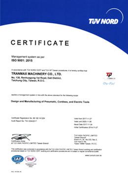 ISO9001-2015-TRANMAX